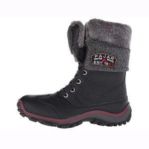 Women's Pajar Alice Black Winter Boot 7